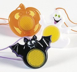HALLOWEEN REFLECTIVE CHARACTER NECKLACES (1 DOZEN) - BULK by FX]()