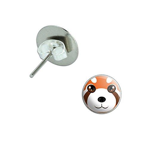 Red Panda Animal Novelty Earrings