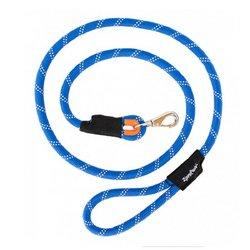 ZippyPaws Climbers Mountain Climbing Rope Dog Leash (Blue, (Blue Dog Leash)