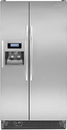 KitchenAid Architect Series II: KSRG25FV 25.4 Cu. Ft. Side By Side  Refrigerator With 3 Spillproof Glass Shelves, Humidity Controlled Crisper,  ...
