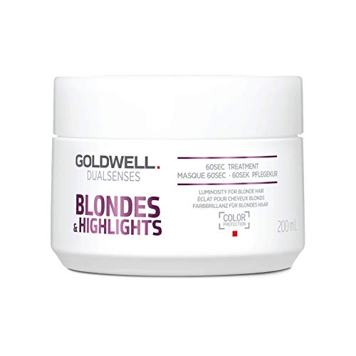 Goldwell Dualsenses Blondes & Highlights Anti-Yellow 60sec Treatment Revitalize Luminous Color 6.7oz