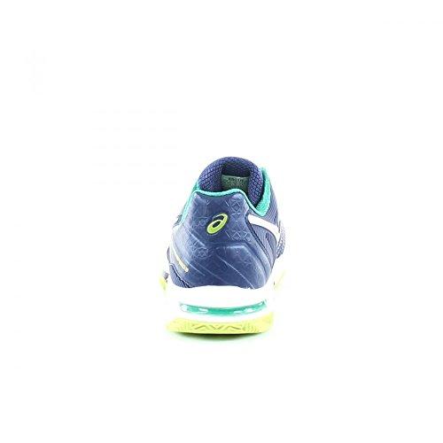 Asics Gel Soluzione Velocità 2 Argilla Tennis Shoes Mens E601n Da Tennis Formatori Indaco Blu Bianco 5001