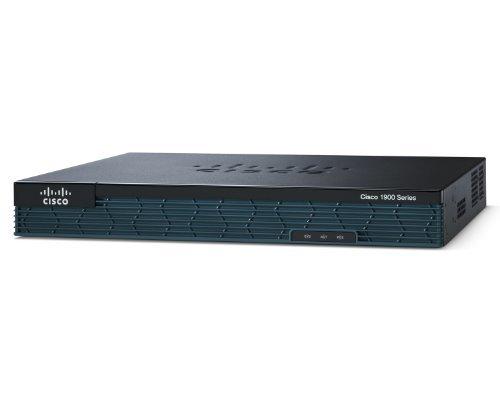 Cisco CISCO1921-SEC/K9 - CISCO 1921/K9 WITH 2GE SEC - LICENSE PAK 512MB DRAM 128MB FI IN