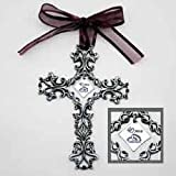 40th Anniversary Cross Ornament - Beautiful & Traditional 40th Anniversary Gift Idea