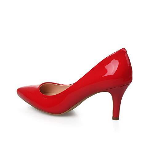 Sandali Apl11009 red 35 Eu Balamasa Rosso Donna Zeppa Con 54qwWTdxY