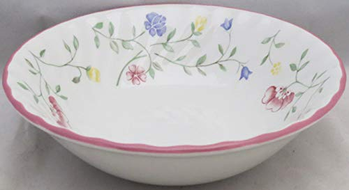 Johnson Brothers Summer Chintz (Made In England,earthenware) Coupe Cereal Bowl