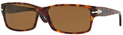 Persol Sunglasses - PO2803 / Frame: Havana Lens: Crystal Brown Polarized (58mm)