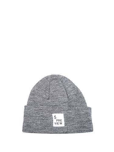 grigio Anteprima taglia 5 unica da Cappello donna OwHW7Iq
