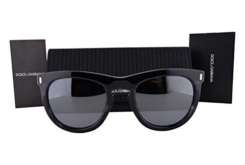 Dolce & Gabbana DG4281 Sunglasses Striped Anthracite Gray w/Gray Mirror Lens 29246G DG 4281 For - Sunglasses Dolce Gabbana Mirrored And