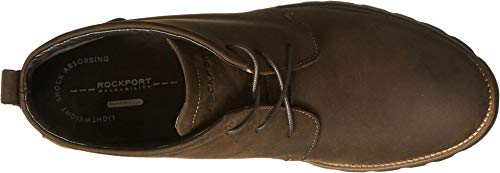 Rockport Men's Charson Brown Oiled Leather 8.5 M (D)-8.5  M