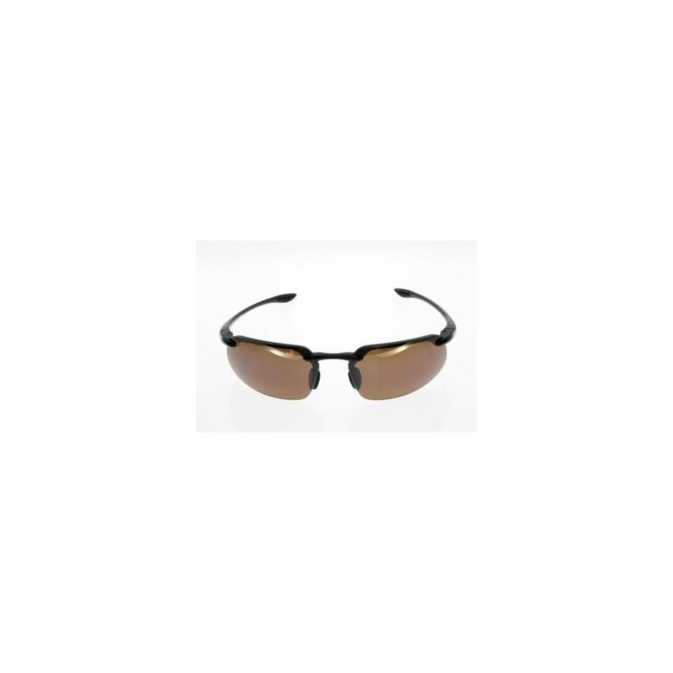 Maui Jim Sunglasses Kanaha Sport / Frame Gloss Black Lens HCL Bronze Polarized