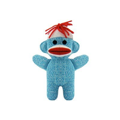Schylling Teal Blue Sock Monkey product image