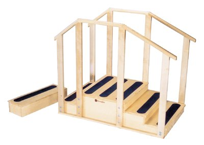 Armedica AM-80 Training Stairs With Bus Step for Physical Therapy by Armedica