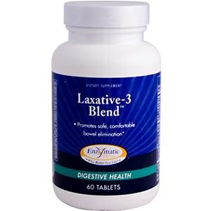 Laxative Therapy (Enzymatic Therapy Laxative-3 Blend -- 60 Tablets)