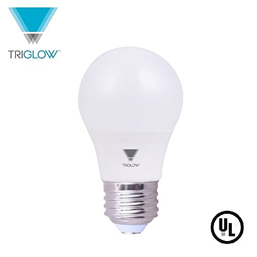 TriGlow LED 6.5W (40W Equivalent) A15 Appliance Light Bulb, 600 Lumen, Non-Dimmable, Soft White (Appliance Light Bulb)