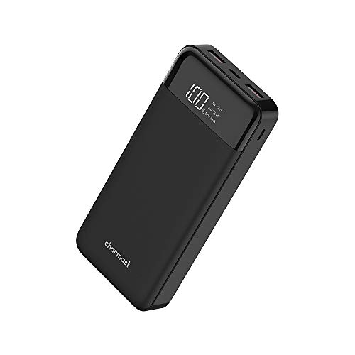 20800mAh USB C Power Bank, 20000 Phone Portable Charger Fast Charge 5V 3A, 2 Input 3 Outputs External Battery Pack Power Backup Compatible with iPhone, Samsung, Cell Phone