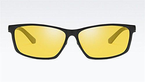 Hombres Sol de MOQJ polarizadas Protección los Gafas Sol F antideslumbrantes de de la Libre A Gafas Deportes al de Conducción la de los Aire Ultravioleta de 7vfq7rwZx
