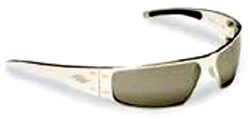 b1b603b1b1f Amazon.com  Gatorz Aluminum Sunglasses QUANTUM-Desert Brown-Chrome Lens   Clothing