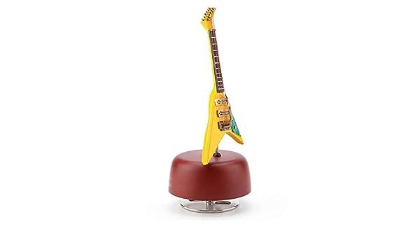 UKLLYY Caja musicbox Miniatura Guitarra Clásica Música Adornos ...