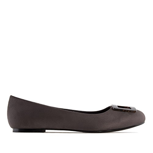 Suede 5 Machado AM5223 Patent Suede Flats Grey to Sizes in 45 EU Large Andres to UK with Ballet 10 Detail 8 42 4gwwp