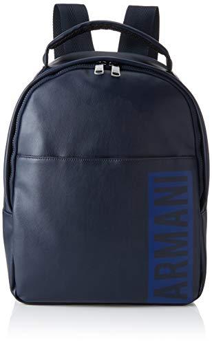 Armani Exchange Men's Graphic Backpack, Navy, UNI