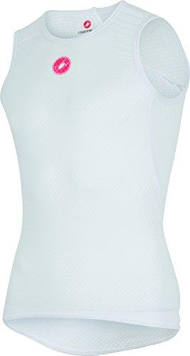 Castelli Pro Issue Sleeveless Base Layer - Men's White, M ()