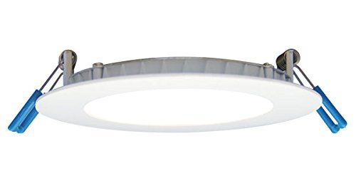 Lotus LED 4''11W Round Super Thin Recessed Downlight White 3000k 700LM, (LB4R/30K/WH) by Lotus