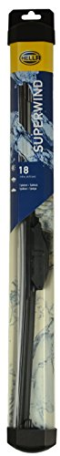 "HELLA 9XW18S Dyna Blade Wiper Blade, 18"", Single"