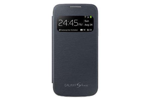 reputable site a6c31 424a5 Flip Cover for SAMSUNG GALAXY S4 MINI I9192 Black color: Amazon.in ...
