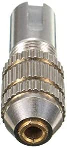 Yadianna 11pcs 0.5-3.2mm Mini Electric Drill Bit Collet Set Fit For Micro Small Twist Chuck drill