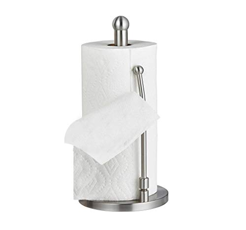 Alpine Industries Stainless Steel Paper Towel Holder -Dining Table Paper Towel Dispenser for Home Office (Steel - Lite)