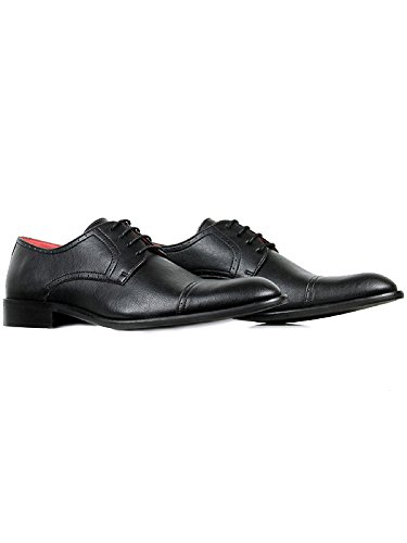 Will's Vegan City Black Derbys Shoes FFrqxU