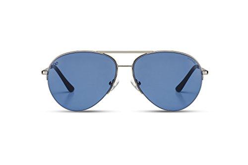 Homme 008 unique soleil Lunettes de Bleu KYPERS RwtfUq4