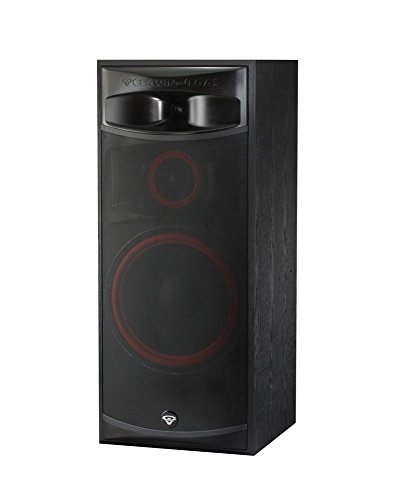 Cerwin-Vega XLS-15 3-Way Home Audio Floor Tower Speaker (Each, Black) by Cerwin-Vega