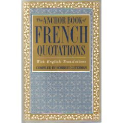 The Anchor Book of French Quotations, wi - Arbor Anchor Shopping Results