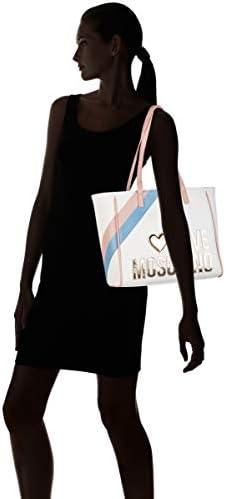 Love MoschinoJc4288pp0afemmeSacs portés épauleMulticolore (White Multi)13x26x39 Centimeters (W x H x L)