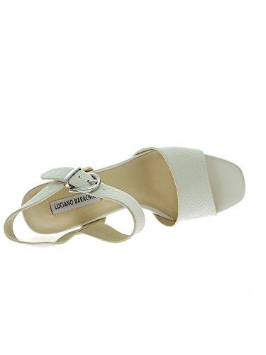 Luciano Barachini - Sandalias de vestir para mujer Bianco