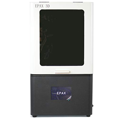 EPAX X1 UV LCD Resin 3D Printer with 3.5 inch Touch Screen, Build Volume 115mm (L)65mm (W)155mm (H) (Best Uv Printer 2019)