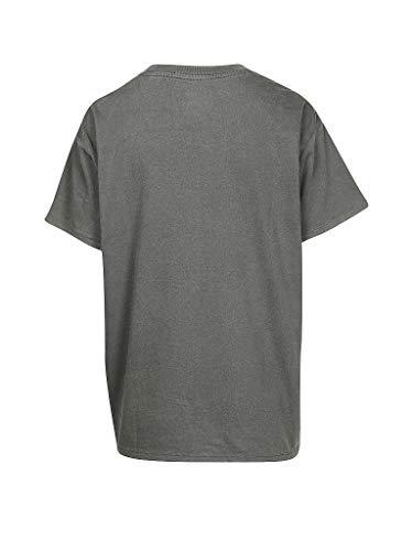 Levi's Grigio 56580 Boyfriend shirt 0011 T Manica Donna Corta rBSHq8gprw