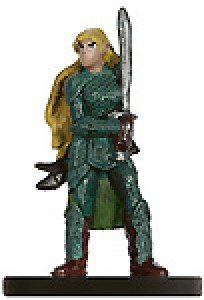 D & D Minis: Female Elf Fighter # 11 - Player's Handbook Heroes Series 2