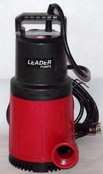 Leader Ecosub 420 Manual - 1/2 HP - 3960 GPH by Leader ()