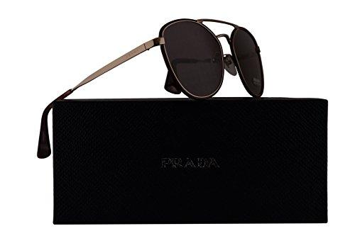Prada PR63TS Sunglasses Bordeaux Burgundy w/Purple Brown Lens 55mm VIY6X1 SPR63T PR 63TS SPR - Sunglasses Purple Prada