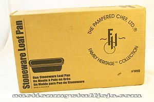 Pampered Chef Stoneware Loaf Pan 1415 by Pampered Chef (Image #1)