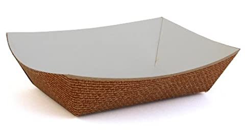 Southern Champion Tray 0564 #200 Clay Coated Paperboard Hearthstone Food Tray, 2-lb Capacity (Case of (Paper Food Trays 2lb)