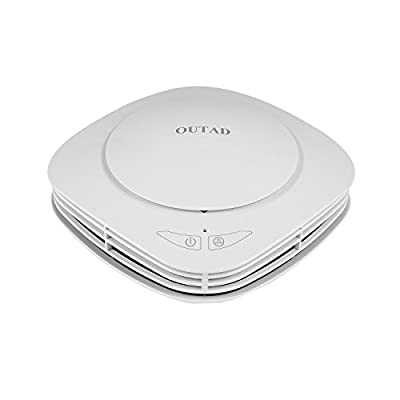 OUTAD Car Air Purifier Car Air Freshener and Ionic Air Purifier | Remove Dust, Pollen, Smoke and Bad Odors - Available for Your Auto or RV