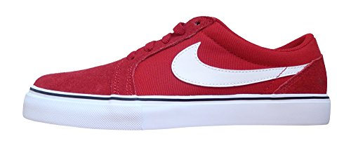 Nike SB Satire II, Zapatillas de Skateboarding para Hombre Rojo / Blanco (Gym Red/White-Black)