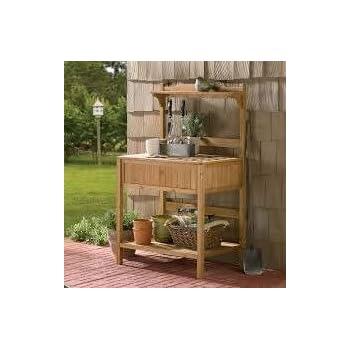 Amazon Com Infinite Cedar Premium Quality Potting Table