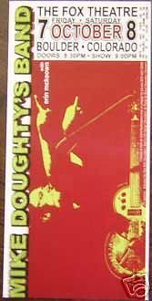Mike Doughty Soul Coughing Rare Original Limited Edition Fox Concert Tour Poster from ConcertPosterArt