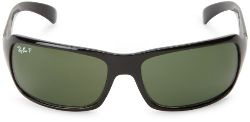 Ray polarized 4075 RB Black green Sonnenbrille Ban Crystal rxPq07rw
