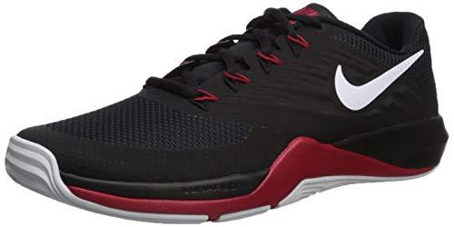 Laser Black Sneakers - Nike Women's Lunar Prime Iron II Sneaker, White/Black/Laser Fuchsia, 6.5 Regular US